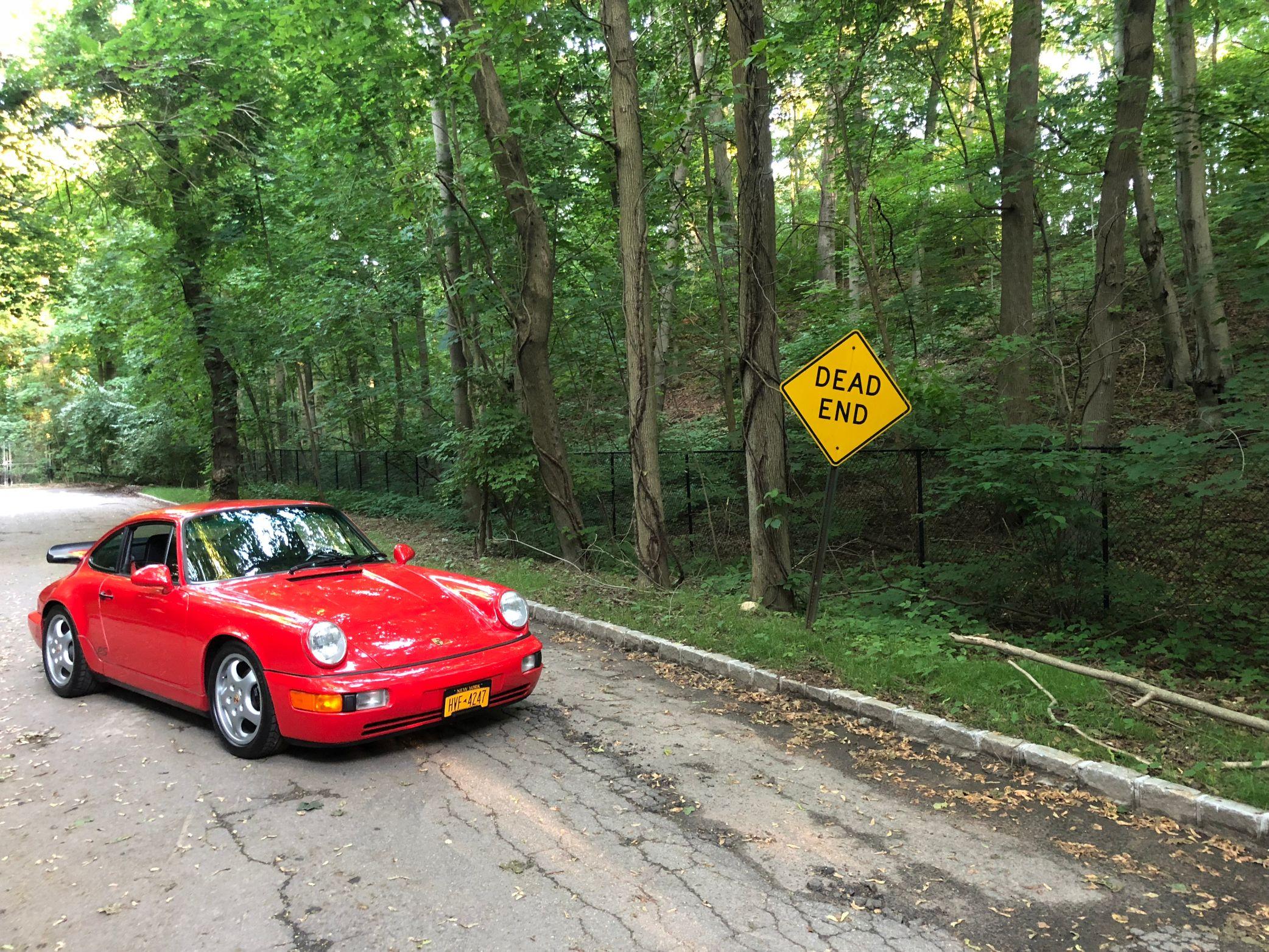 1992 Porsche RS America red