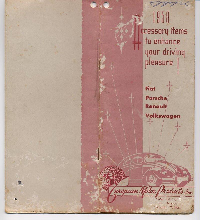 Catalog Empi 1958
