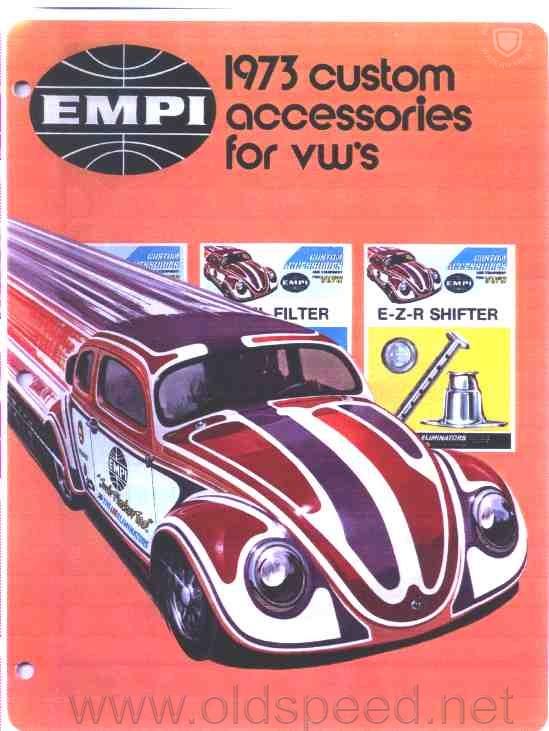 Catalog EMPI 1973 accessories