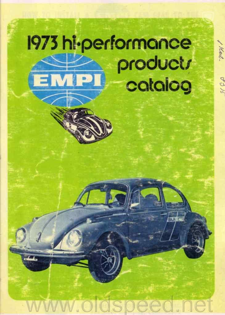 Catalog EMPI 1973 hi-performance