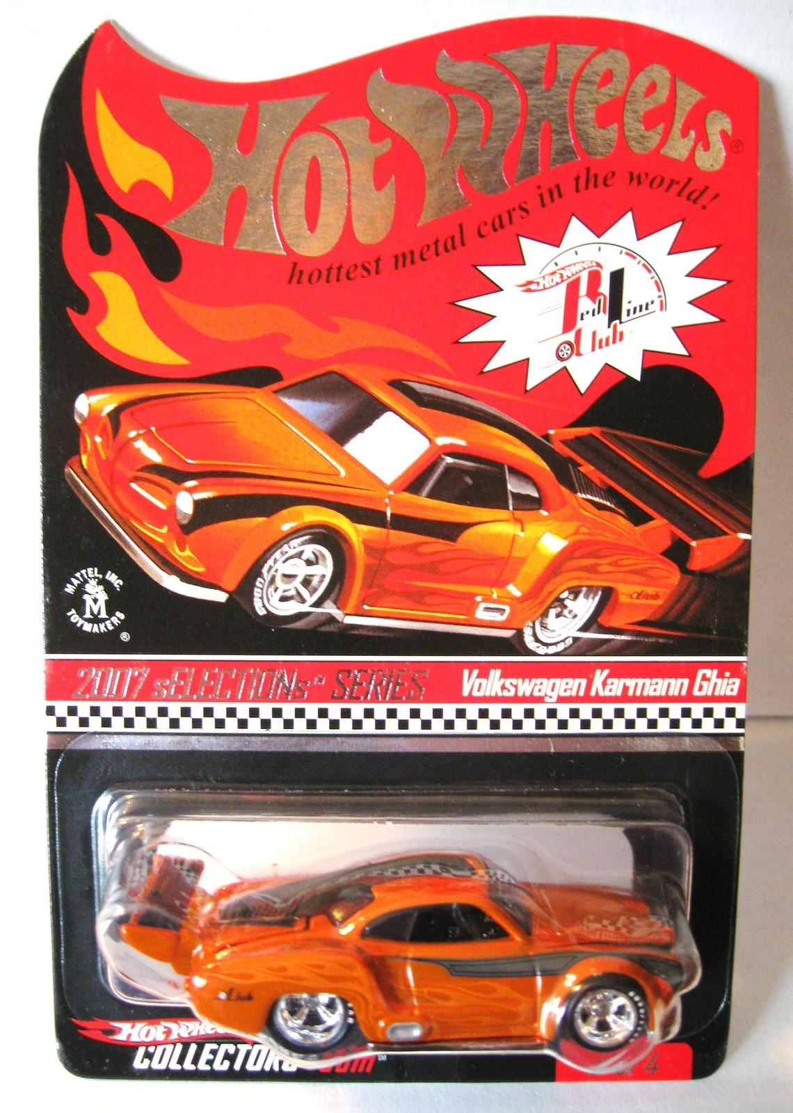 VW Karmann Ghia Red Line Club sELECTIONs Series (2007)