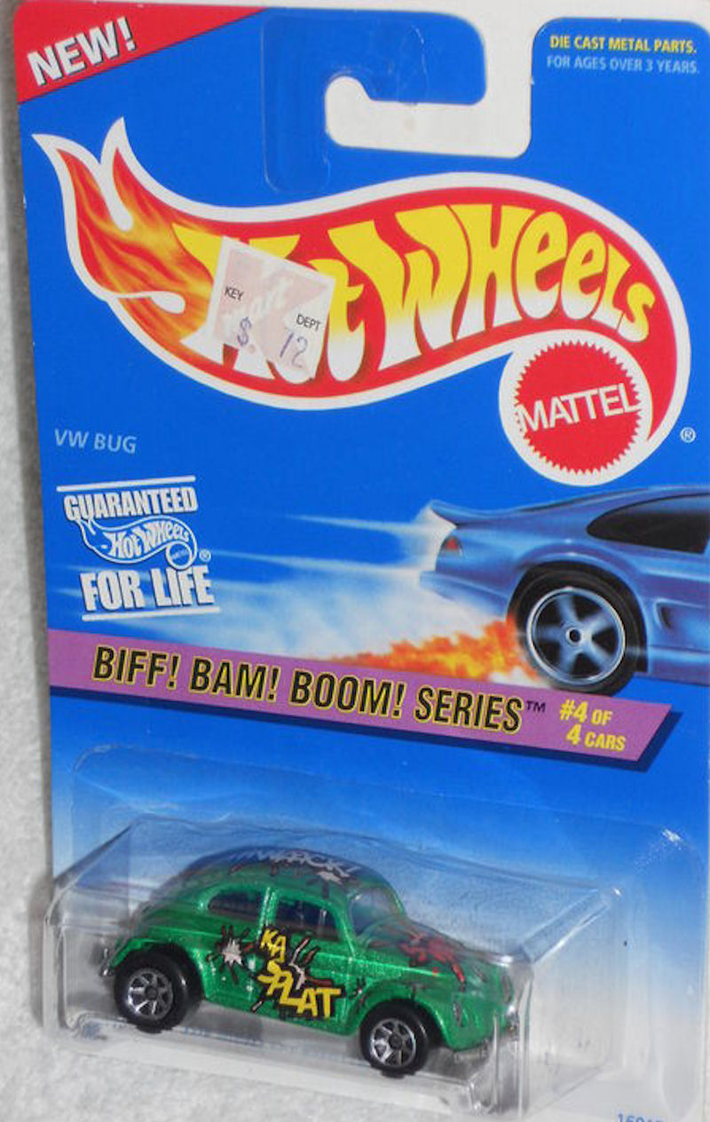 VW Bug Biff! Bam! Boom! Series 7 Spokes (1997)