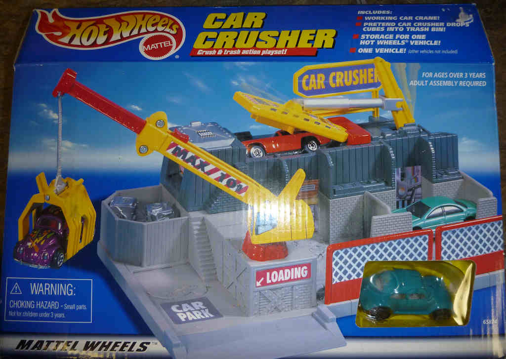 Car Crusher Turquoise Beetle (1999)