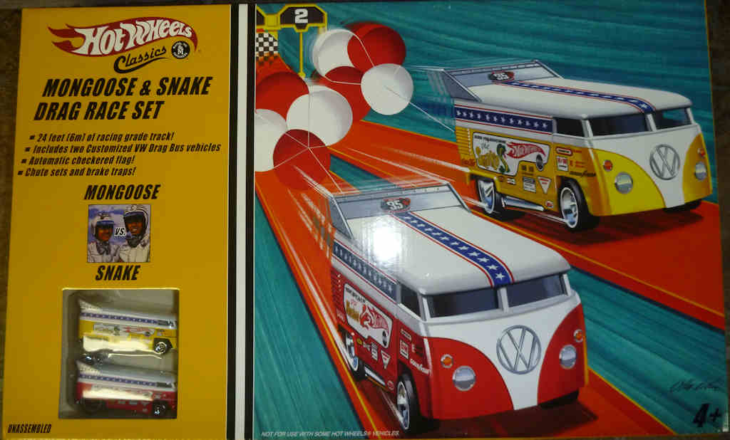 Moongoose and Snake Drag Race Set
