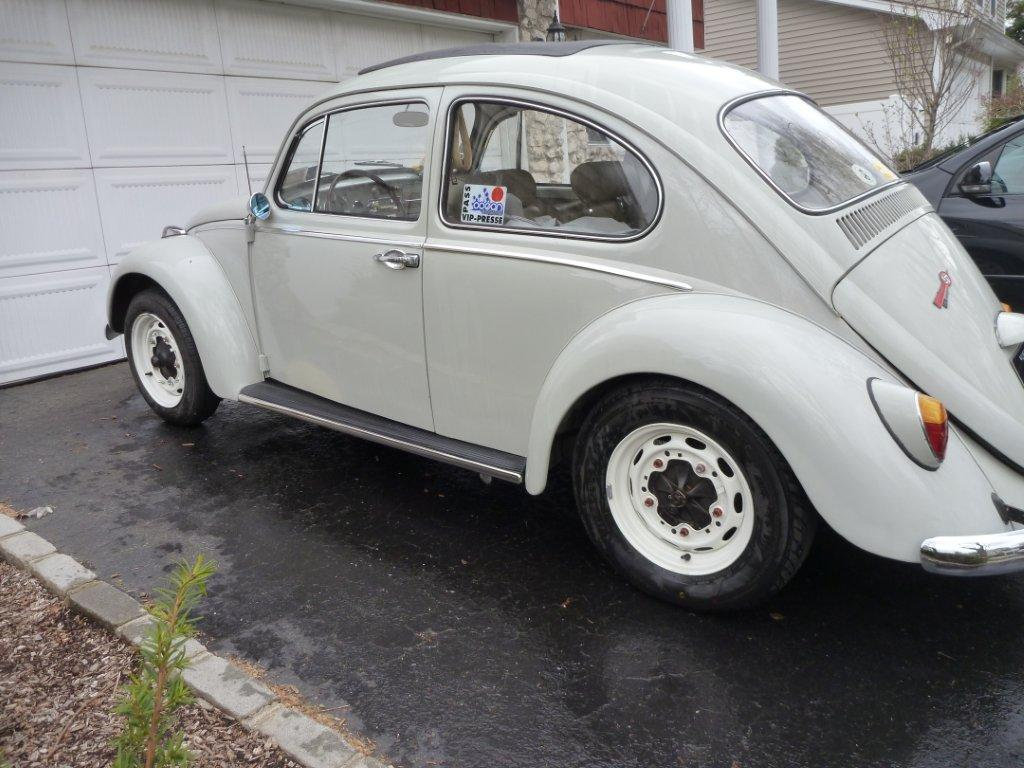 Porsche 356 Rims on a beetle